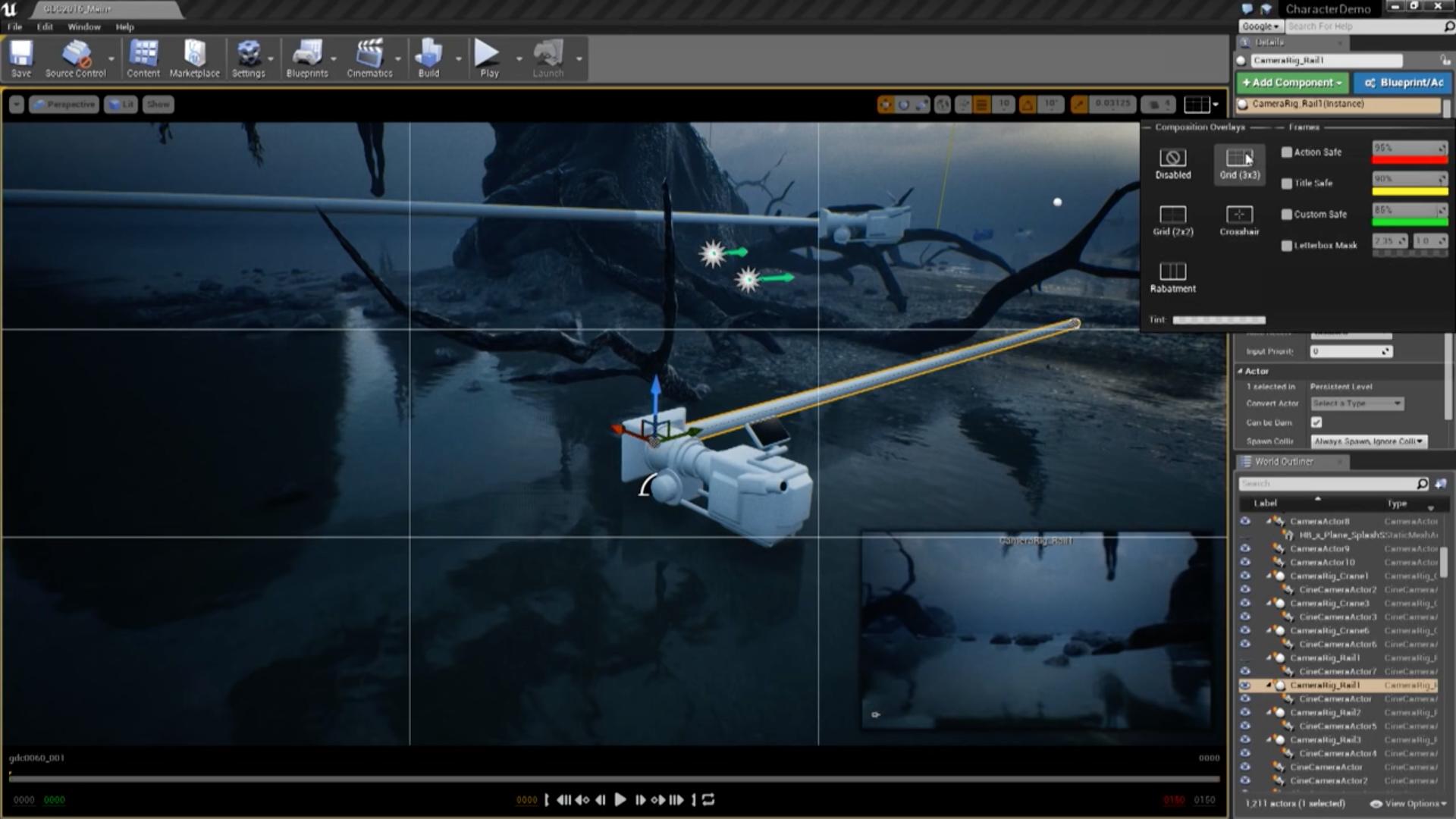 UE4 Sequencer Cinematic Tool – Cutscene Artist