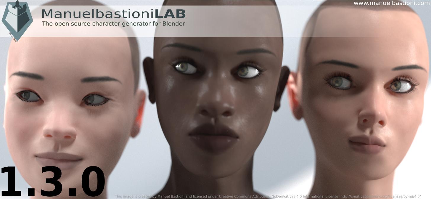 Manuel Bastioni Laboratory